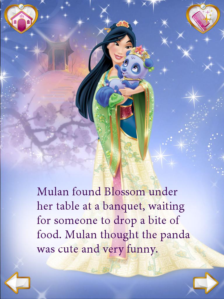 Princess Palace Pets Mulan Blossom Disney Princess Pets