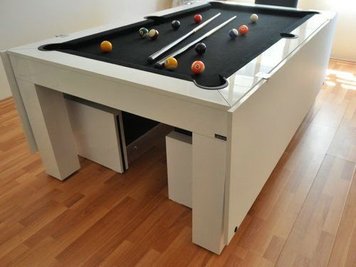 Modern Square Pool Table | Pool Table Accessories | Pinterest ...