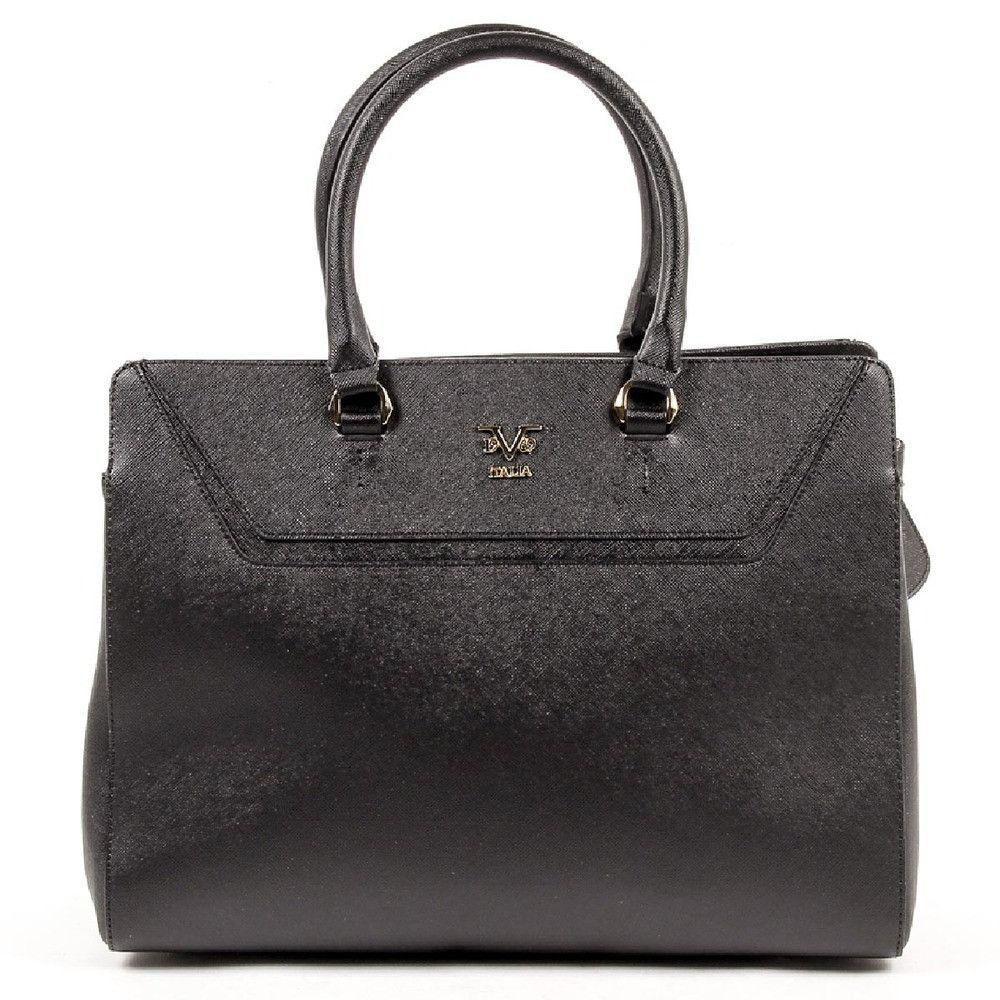 ONE SIZE Versace 19.69 Abbigliamento Sportivo Srl Milano Italia Womens Handbag V1969002 BLACK