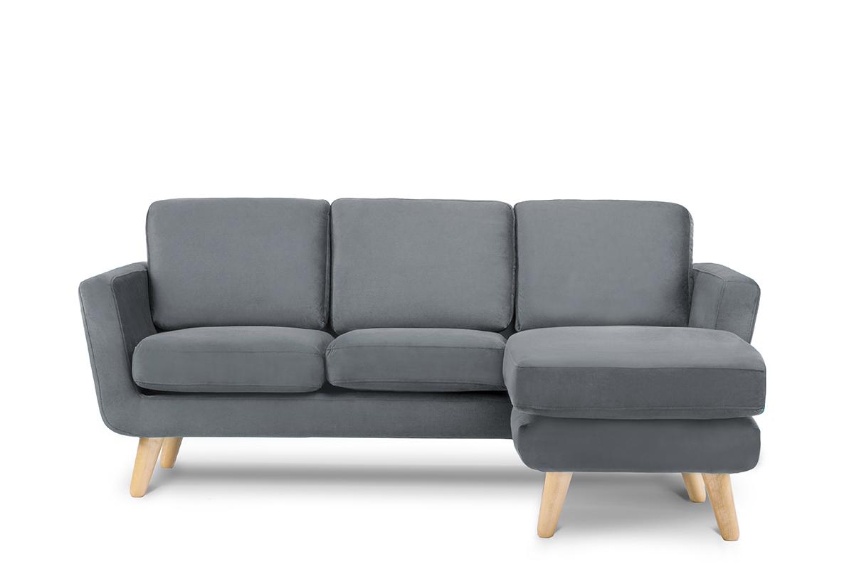 Scandi Corner Sofa In Grey Cosy Corner With Wooden Legs Grey Corner Sofa Scandi Corner Sofa Scandi Sofa
