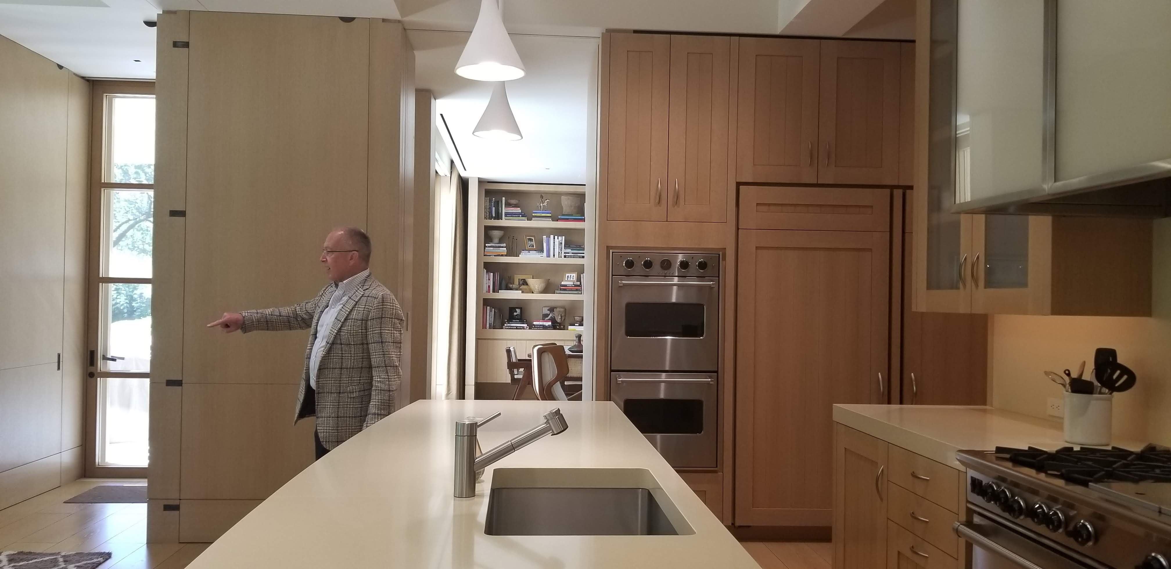 Kitchen Kompact S Glenwood Beech Cabinetry Flat Panel Cabinets Kitchen Dad S Kitchen