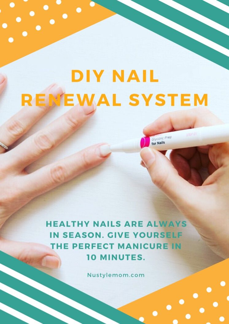 """Want nails that have phenomenal gloss and shine without the hassle of polish? Well, now you can! In just three easy steps, Dr. Dana's nail renewal system will have you nails shining bright like diamonds in just 10 minutes! Give it a try! Let us know If you love it just as much as we do!""""  #drdana #diycare #homebeauty #nailcare #nailathome"""