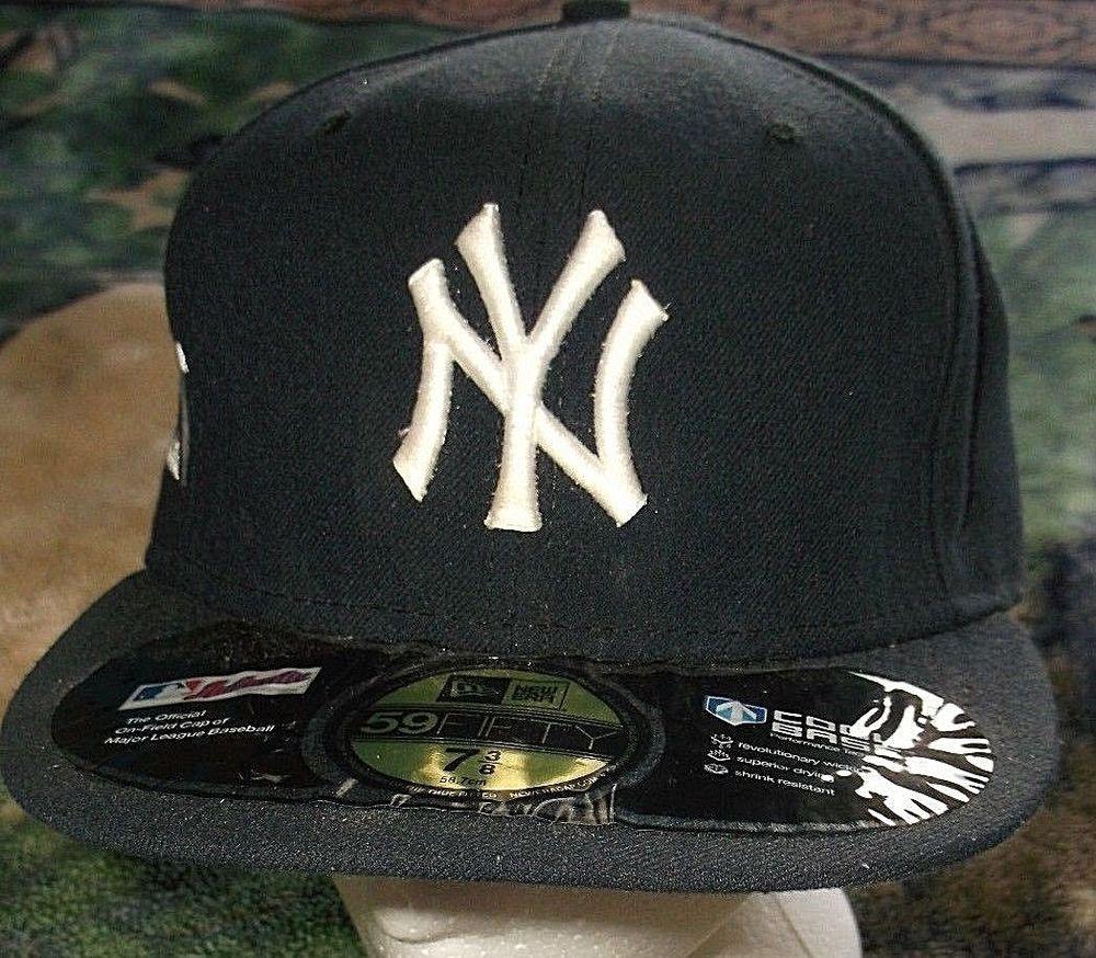 NEW ERA 59FIFTY CAP NEW YORK YANKEES NV ON FIELD MLB AUTHENTIC FITTED 5950  HAT  NewEra59Fifty  BaseballCap  NewYorkYankees c5e9db4e5e50