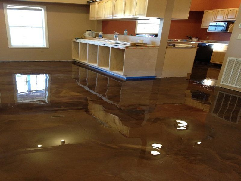 Epoxy Flooring From Glossy Floors Of Northwest Arkansas Tulsa
