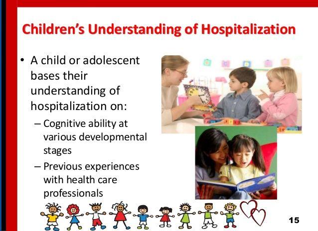 Understanding of hospitalisation | Health promotion ...