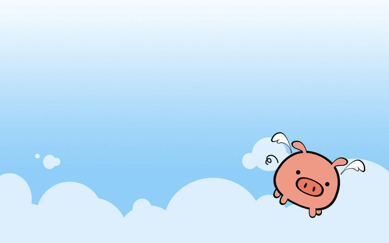 The Cute Pig Illustrator Wallpaper Comics Desktop
