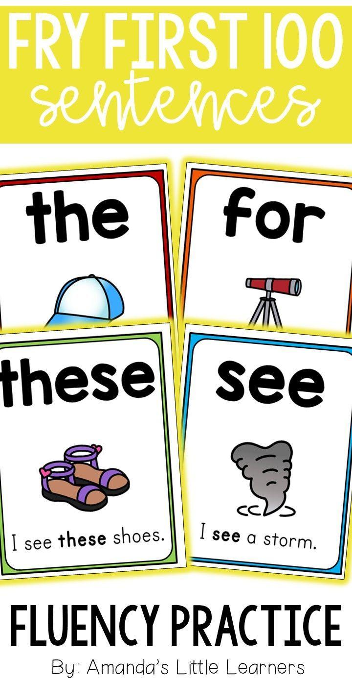 Sight Word Sentences - Fry First 100