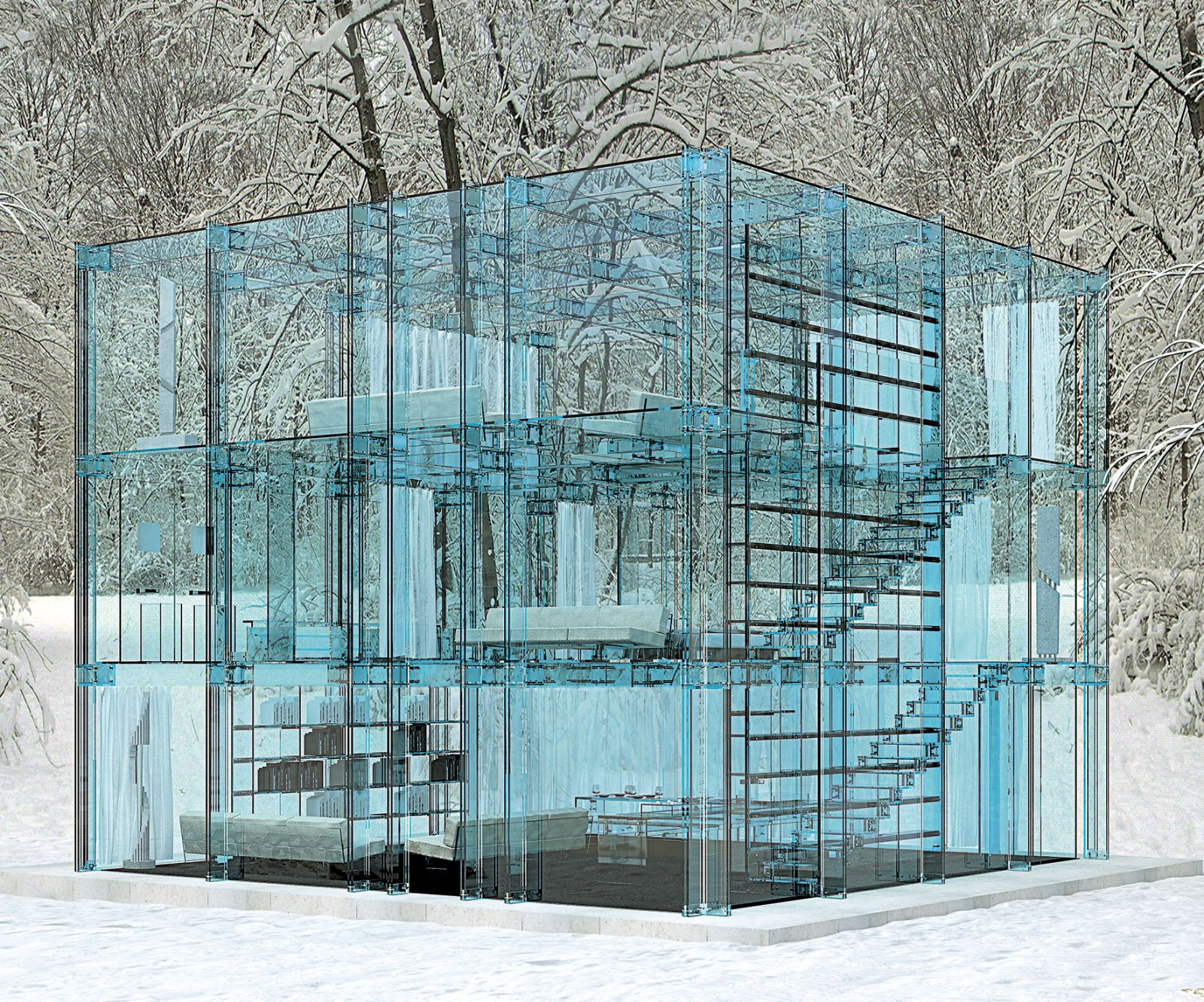In The Italian Architect Carlo Santambrogios Version In Milan, The
