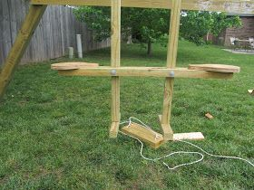 Diy Project Crazy Wood See Saw Swing Big Backyard Seesaw Big