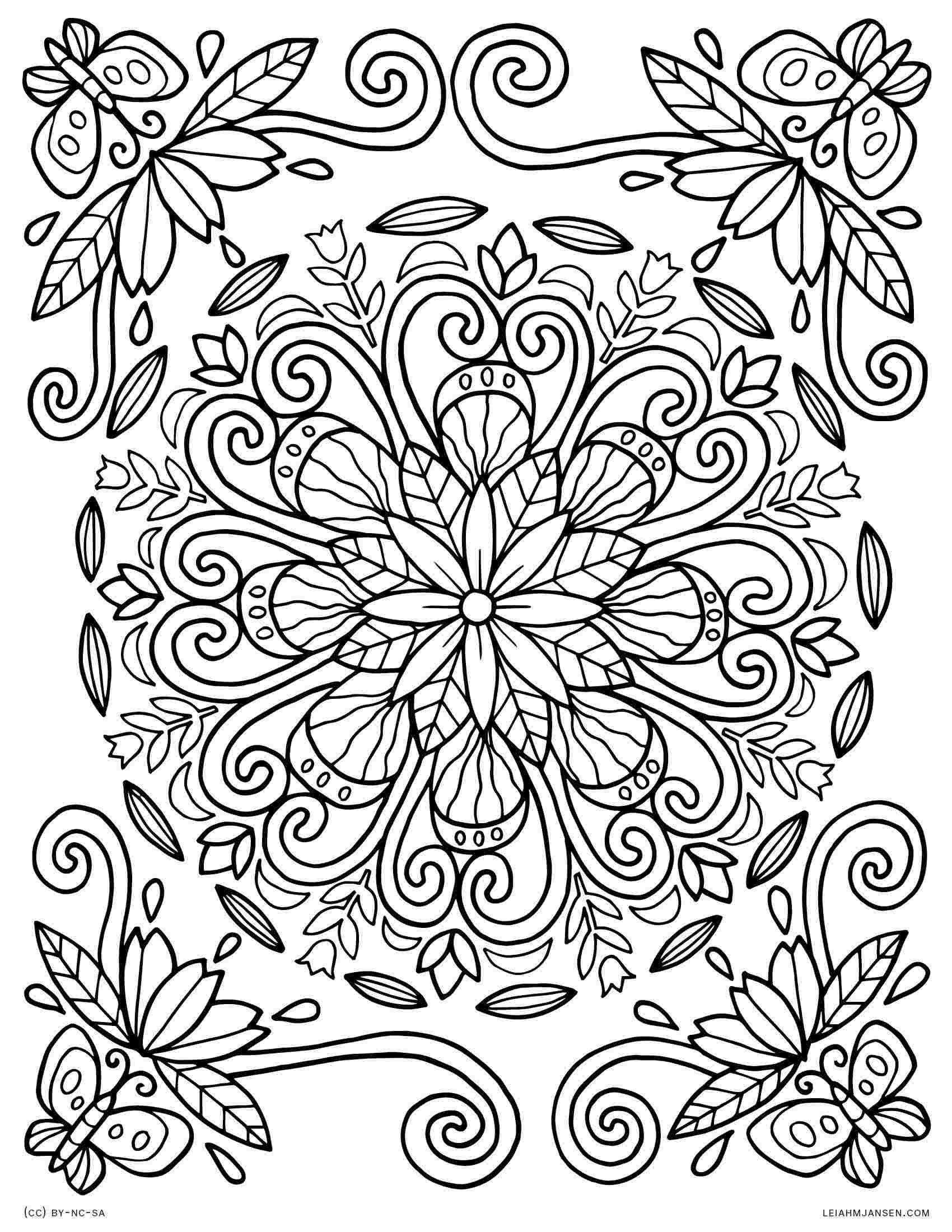 Large Mandala Coloring Pages Page Coloring Advanceddala Coloring Pages Free Printable Mandala Coloring Pages Abstract Coloring Pages Spring Coloring Pages