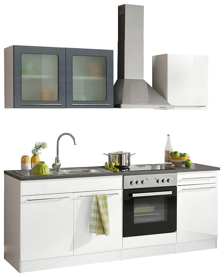 Küchenzeile held möbel malta ohne e geräte breite 210