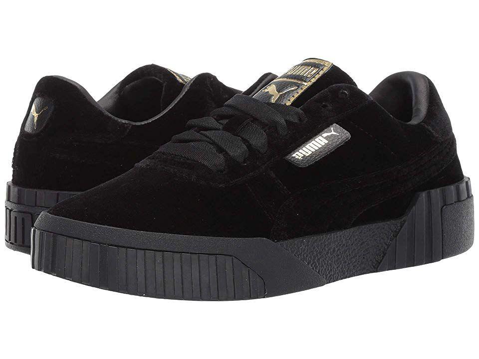 d5a8285eaed57 PUMA Cali Velvet Women's Classic Shoes Black in 2019   Products ...