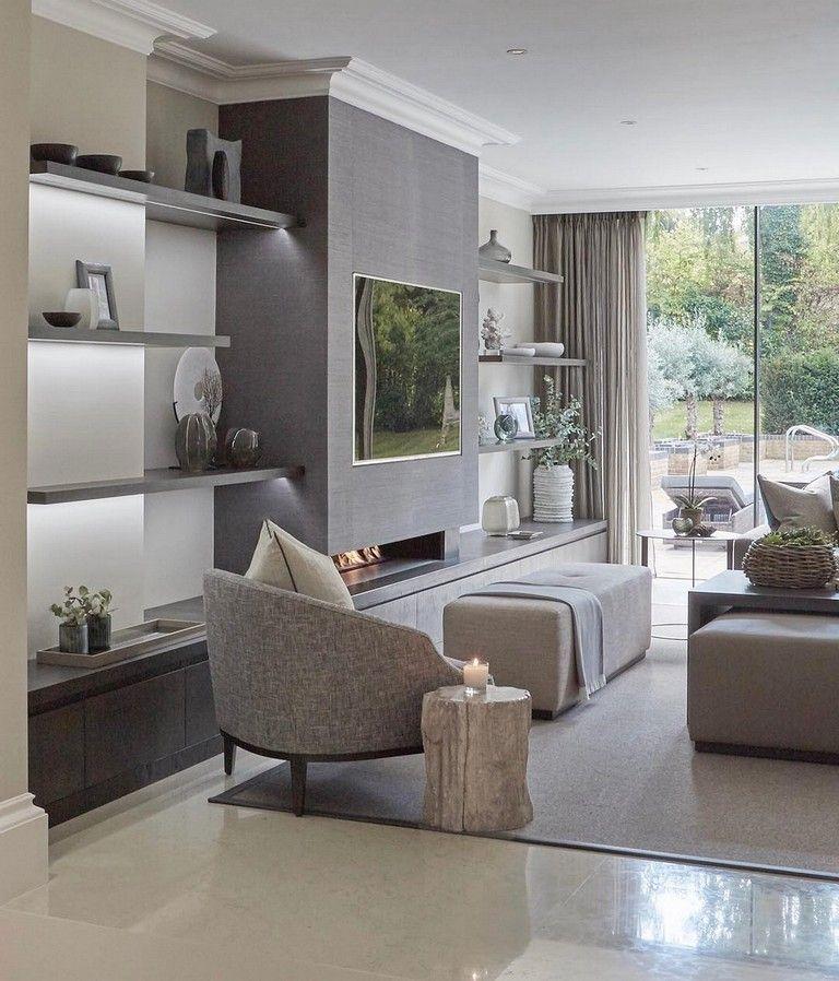 99 Optimum Wall Design Living Room Ideas \u2013 Beautiful Living Room