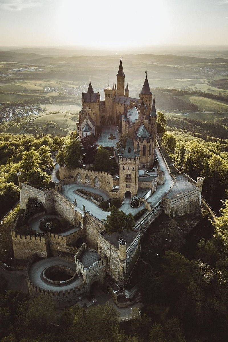 Hohenzollern Castle By Kristof Palm Trees Germany Castles Hohenzollern Castle Fantasy Castle