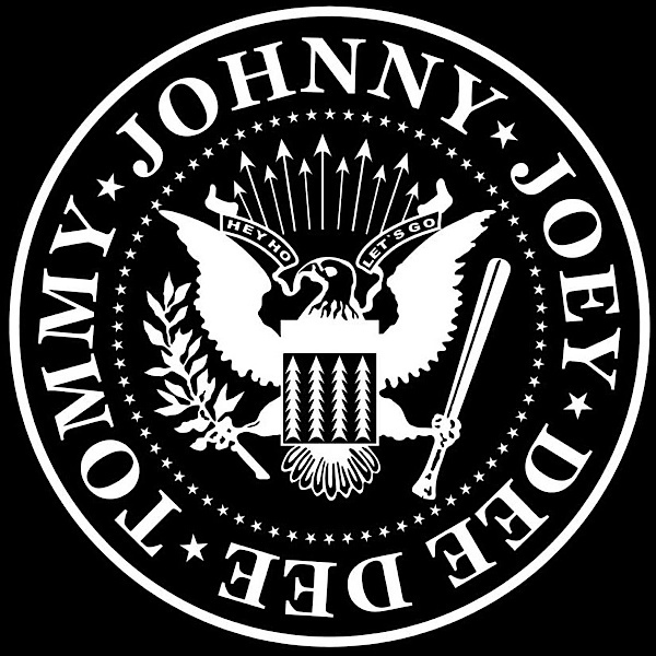 Officially Licensed Original Artwork High Quality STICKER Aufkleber DECAL RAMONES Logo