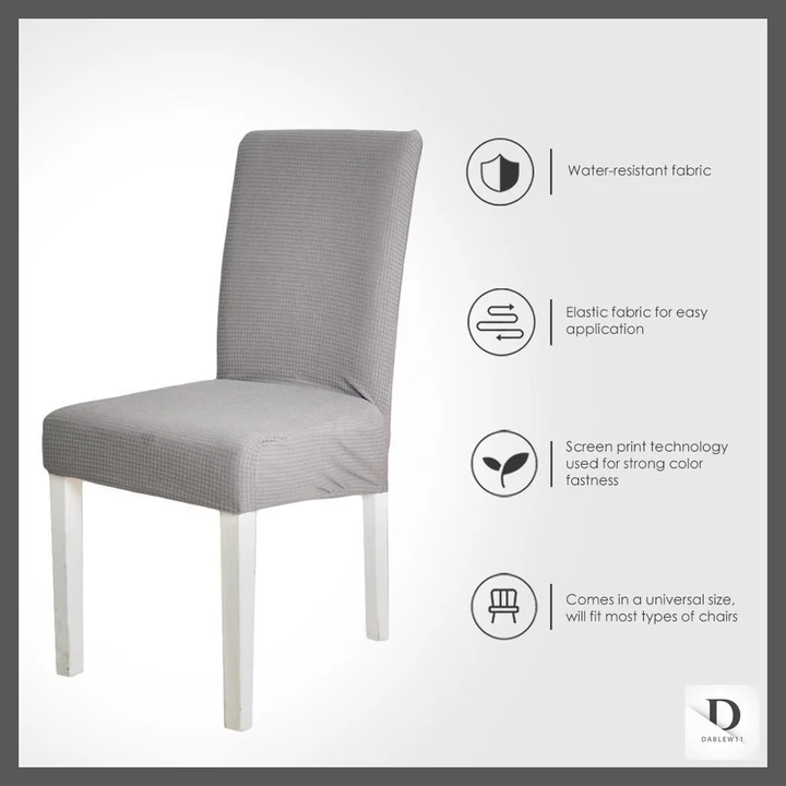 Jacquard Spandex Waterproof Dining Chair Covers Protector In 2020 Dining Chair Covers Dining Chairs Chair Covers