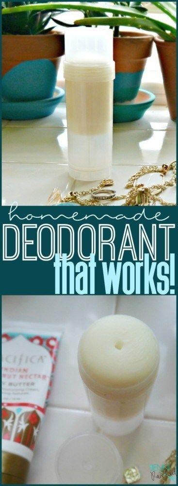 Homemade Organic Deodorant