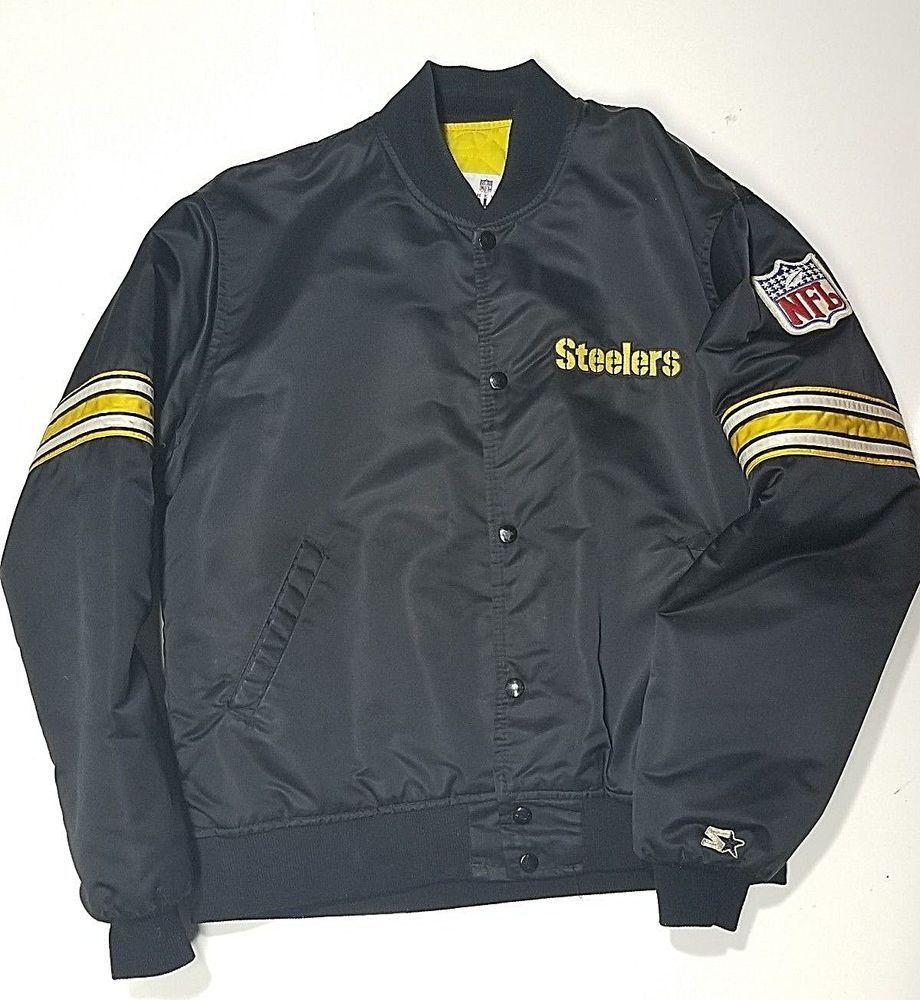 1980's Pittsburgh Steelers Starter Jacket ProLine NFL