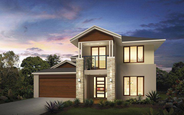 Metricon home designs the glendale plantation facade for Metricon new home designs