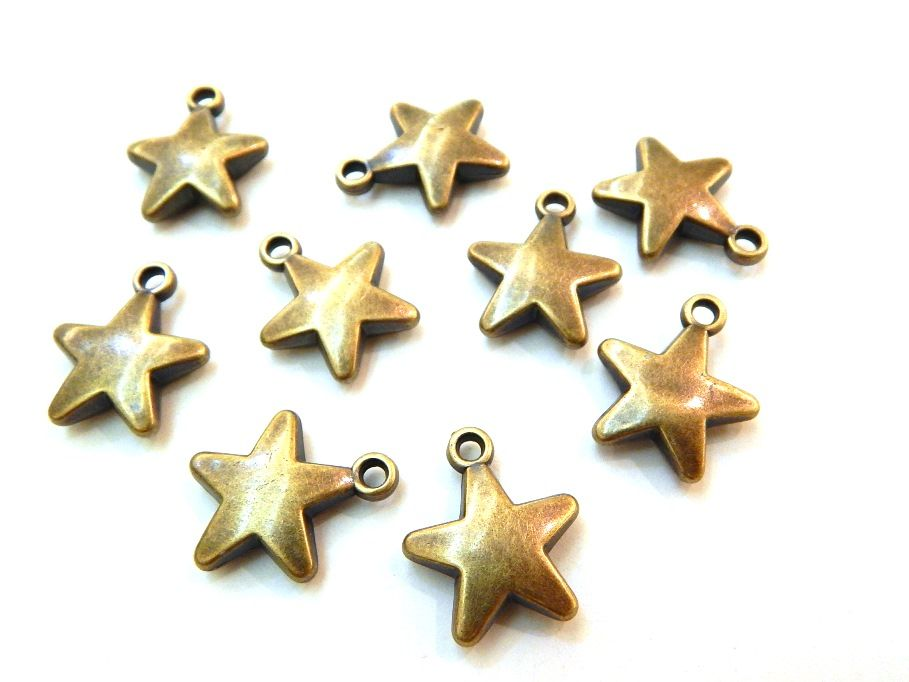 Fpm0000 Estrella Oro Viejo Medida 2 0 X 1 8 Cm Paq C 10 Piezas
