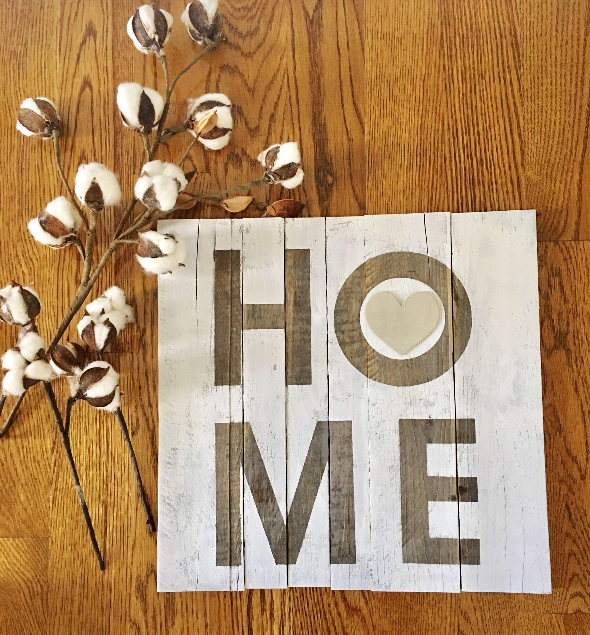 Excited to share the latest addition to my #etsy shop: Home Sign | Wood Sign | Pallet Sign | Rustic Decor | Farmhouse Decor | Farmhouse | Rustic | Wood Signs | 15x15 Sign