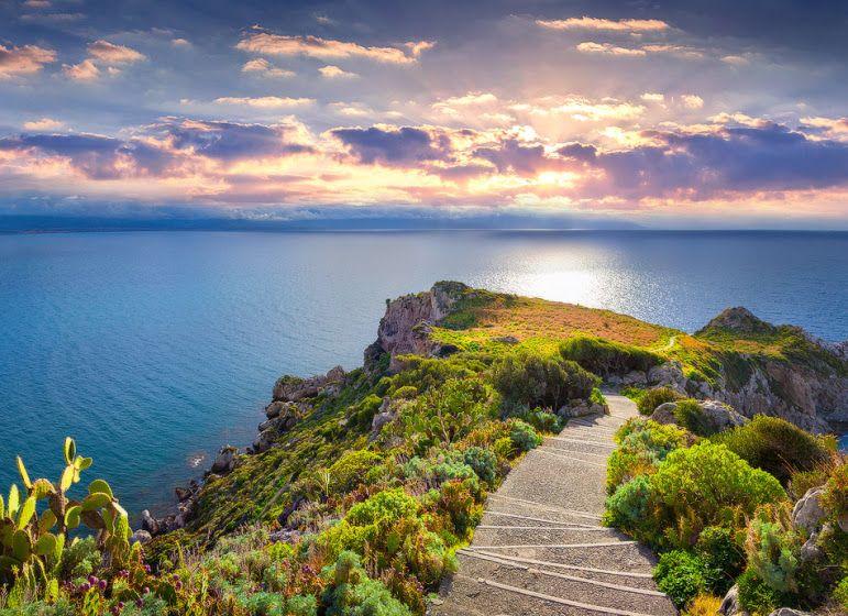 Cape Milazzo: Sicily, Italy