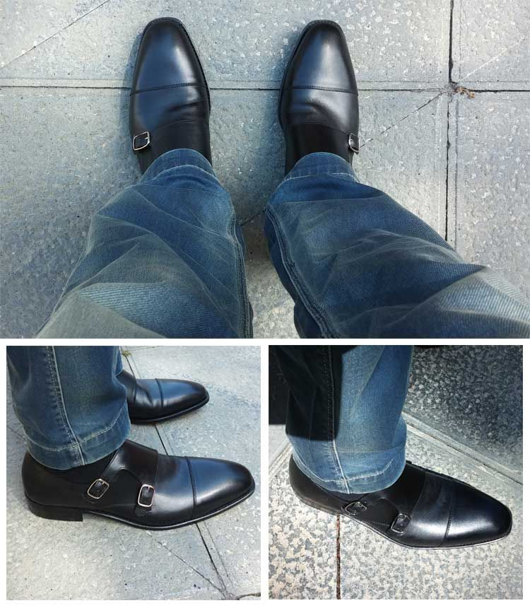 Double Monk Strap Shoes - The Dressiest Of All Men's Shoes - Men Style  Fashion