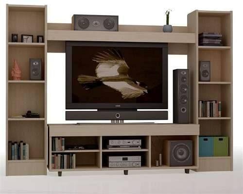 mueble para tv leds de 42 blu ray y equipos de sonido