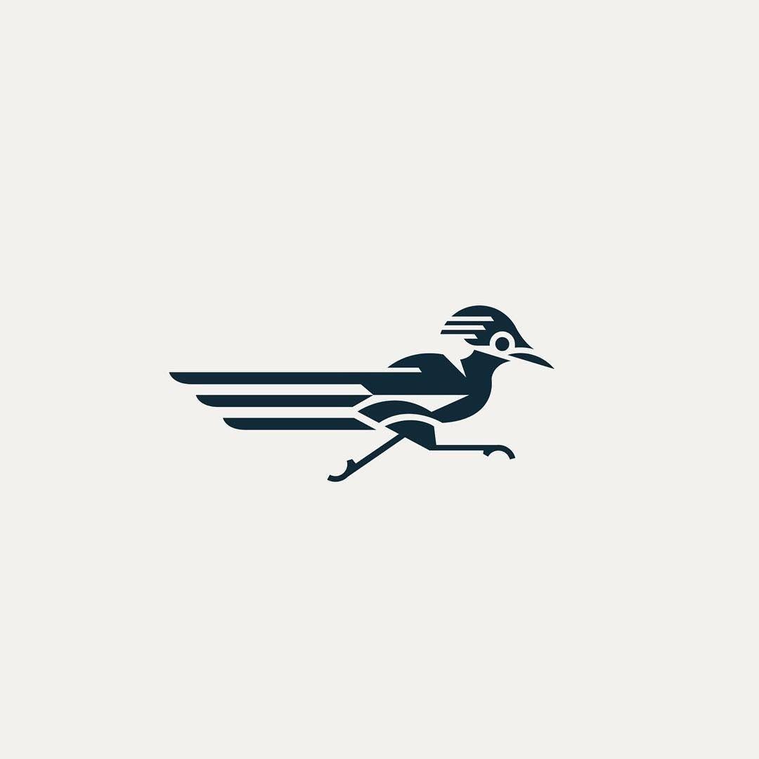 Roadrunner Logo Design Inspiration Branding Design Logo Logo Design