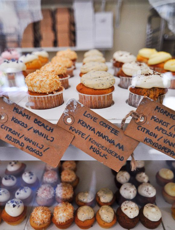 Lovely Cupcake Display Cupcake Sthlm A Shop Bringing The
