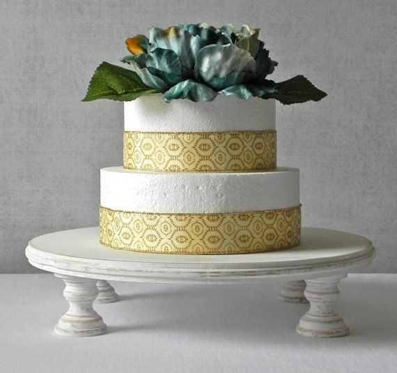 20 Rustic Cake Stand White Round Cupcake Rustic Etsy Country Wedding Cake Stand Wedding Cake Stands Rustic Cake Stands