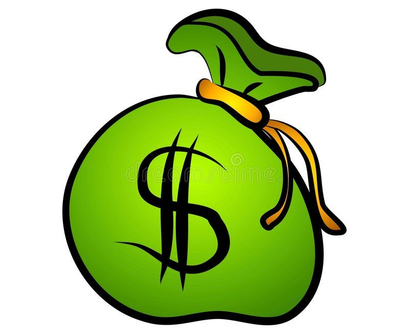 Green Bag Of Money Dollar Sign An Illustration Of An Isolated Bag Of Money In G Affiliate Illustration Show Me The Money Green Bag Stock Photography Free