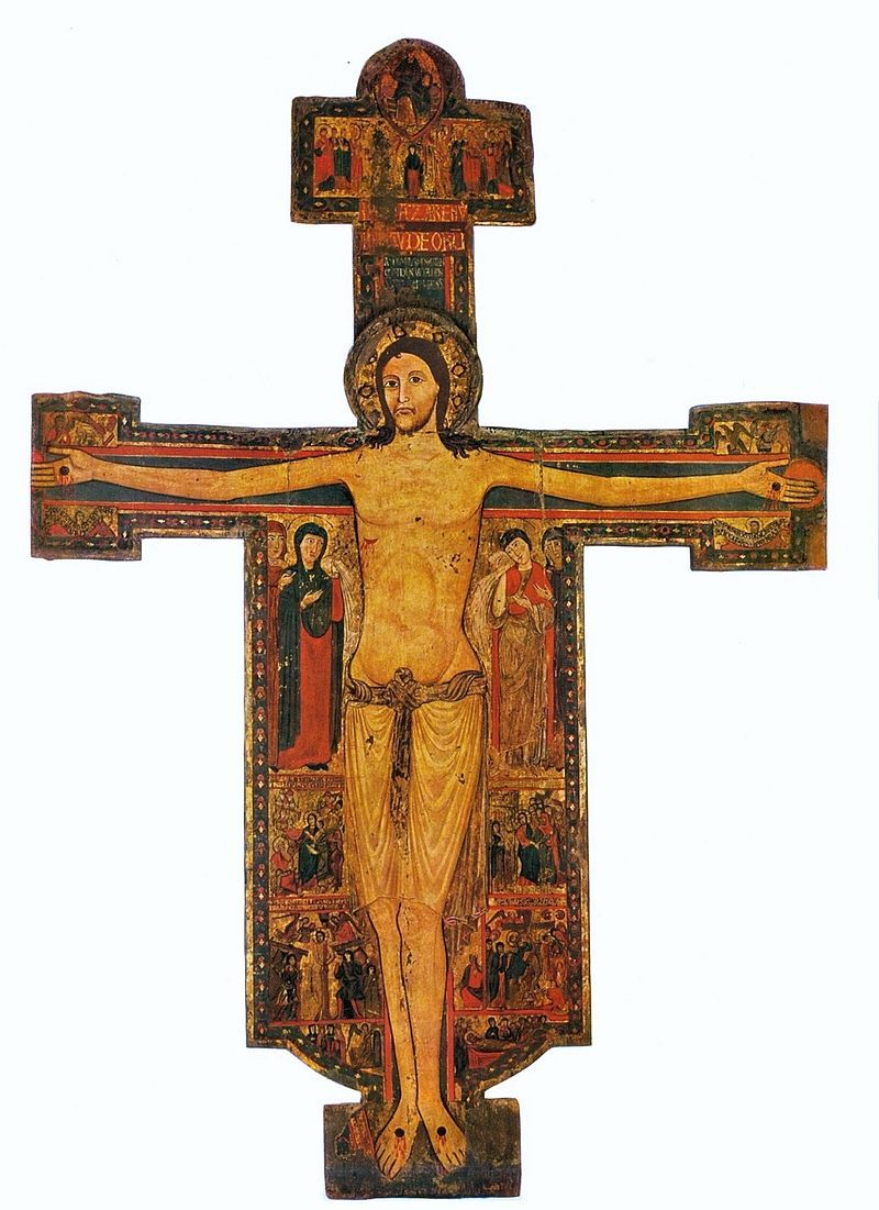 Crusifix. Master Guglielmo. - Византийский мастер распятия из Пизы — Википедия