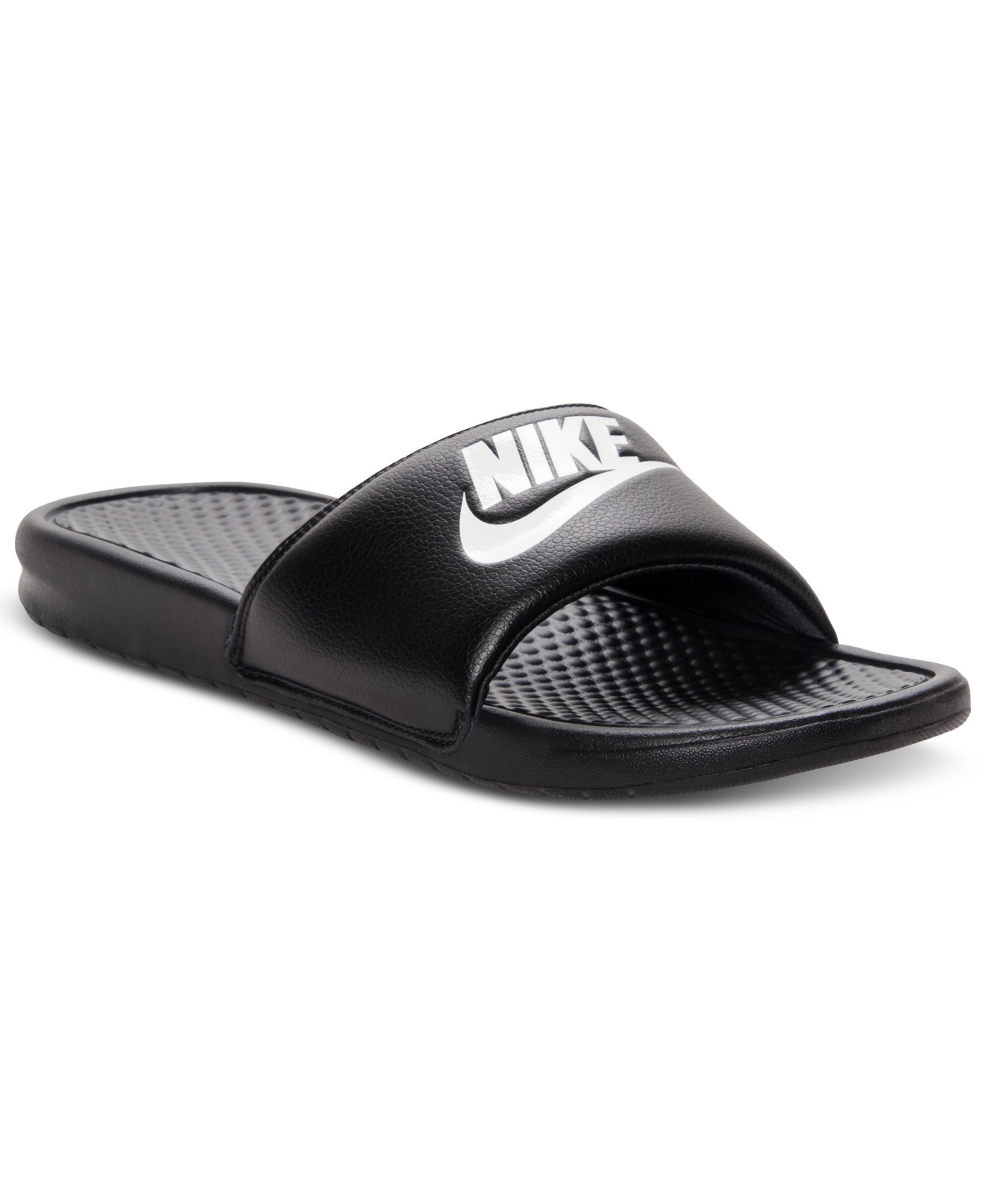 3eb6238ed02d Nike Men s Benassi Just Do It Slide Sandals from Finish Line