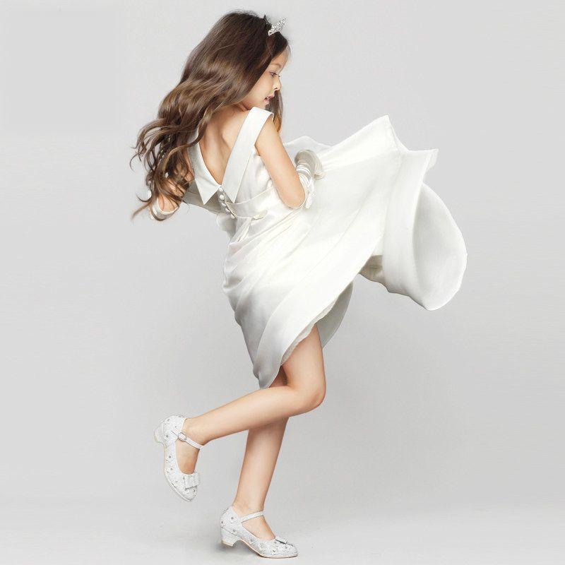 Günstige Ukraine Mädchen Prinzessin Abend Hochzeit Kleid Für 2 3 4 5 ...