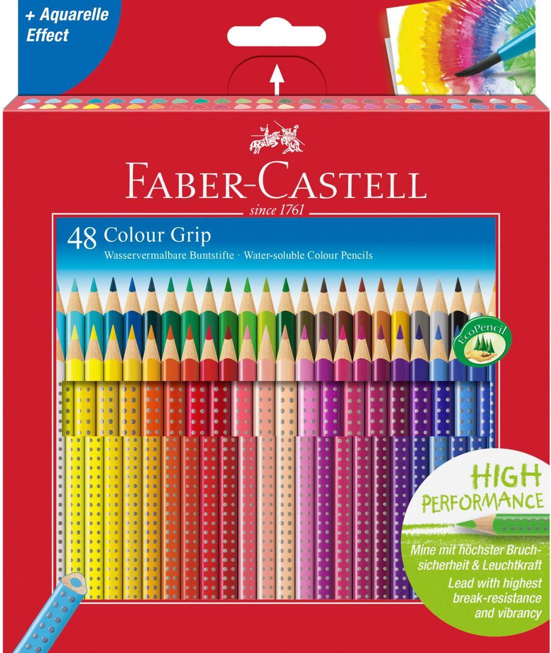 Colour Pencil Colour Grip Cardboard Box Of 48