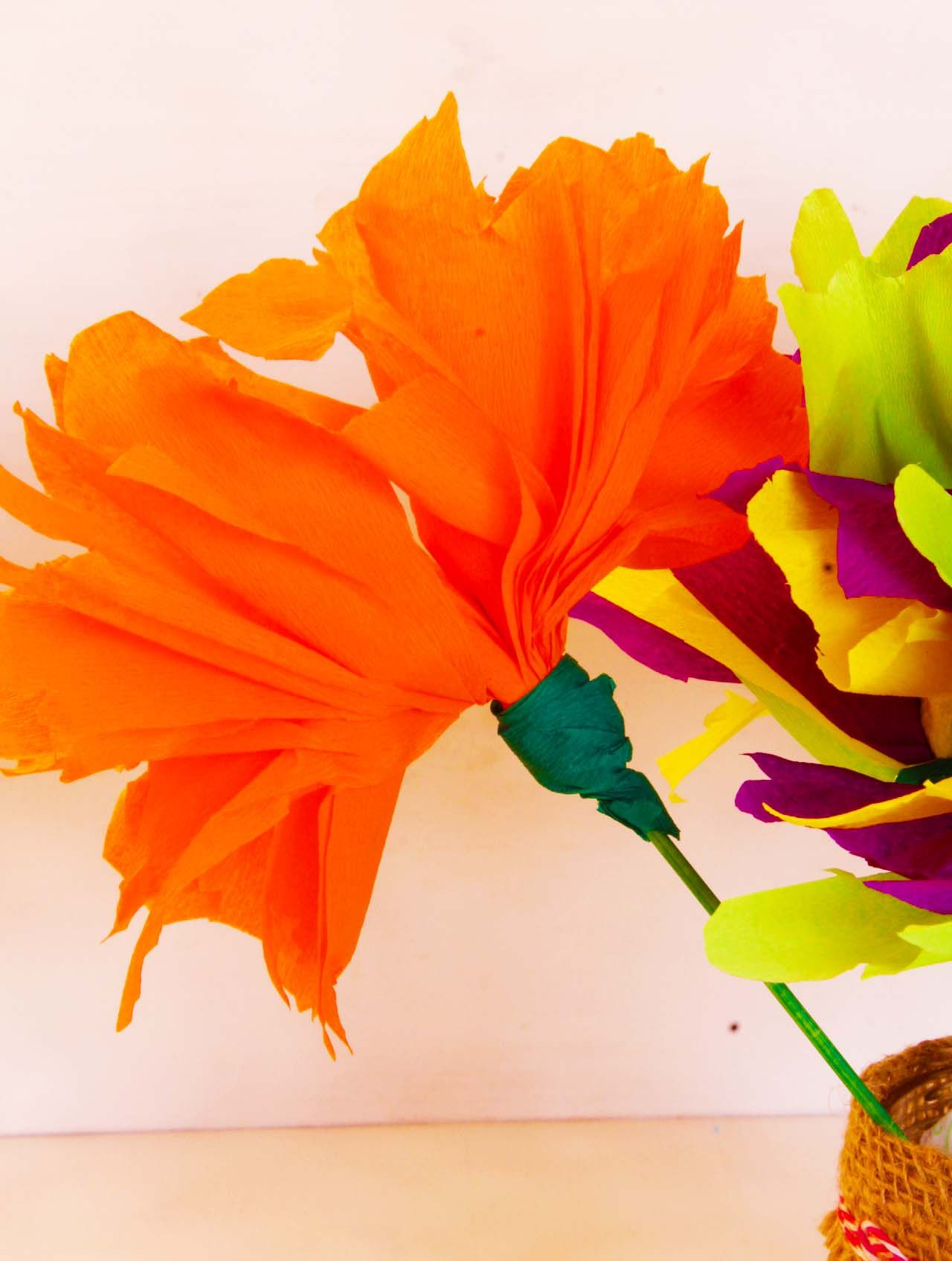 Tissue Paper Flowers Craft Tissue Paper Flowers Make A Cute