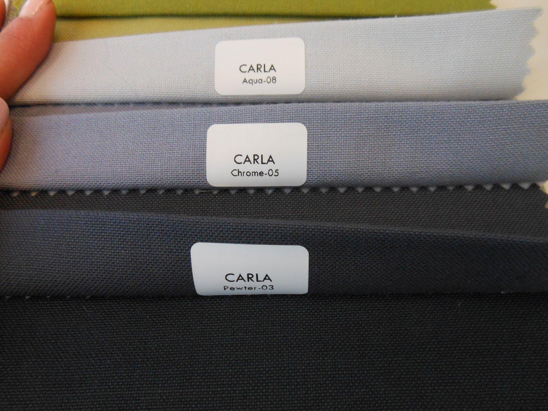 Carla Chrome Kolor Tkaniny Na Rolety Rzymskie Zdjęcie W