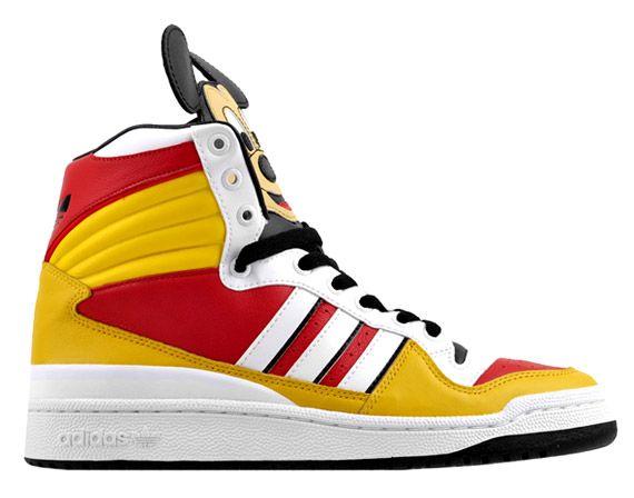 size 40 6ca2a a178b Adidas Originals vs. Jeremy Scott