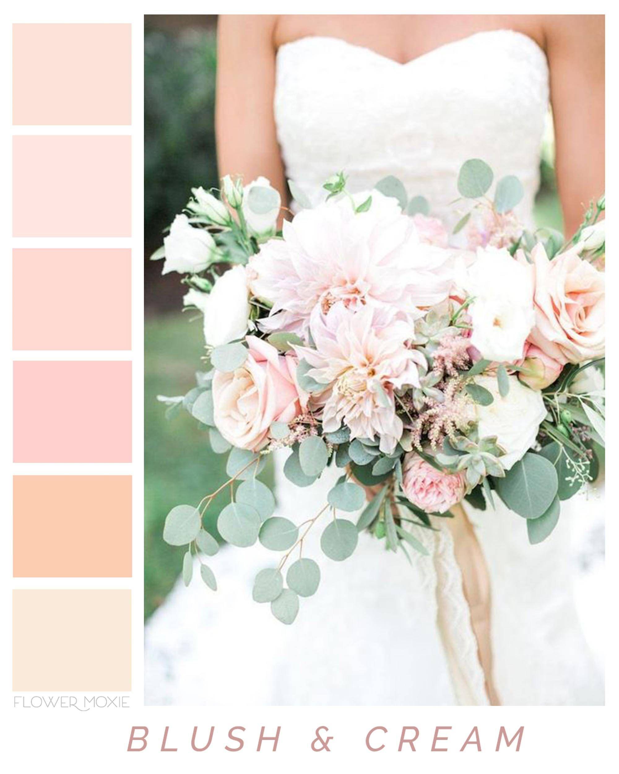 Wholesale Wedding Flower Packages: Moodboard-Inspired DIY Floral Packages For Weddings