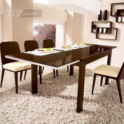 Dining Tables Calligaris Vero Vr Extendable Glass Top Table Contemporary Furniture Affordable Furniture Modern Furniture Online