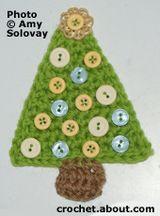 Christmas Tree Applique ༺✿ƬⱤღ✿༻