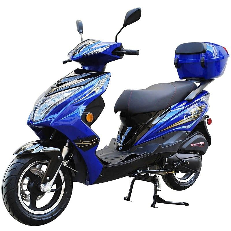 200cc Gas Moped Scooter Super 200 Automatic Cvt Big Power Engine