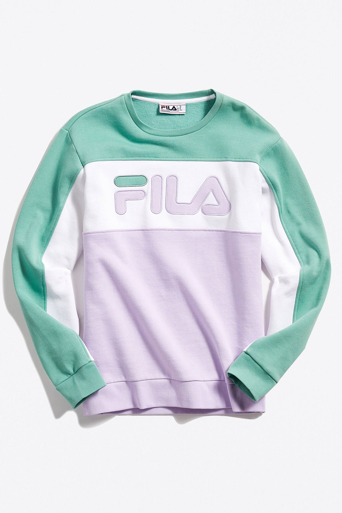4a7f542c7 FILA Lesner Crew Neck Sweatshirt in 2019 | Sweaters | Crew neck ...