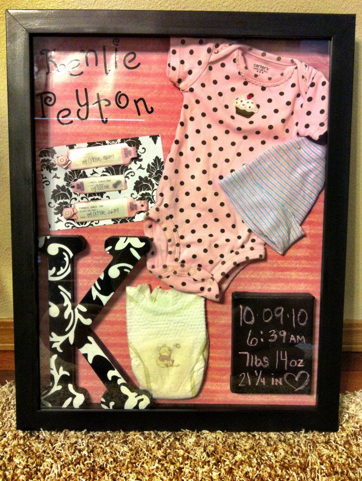 Shadow Box for Kenlie's room :)