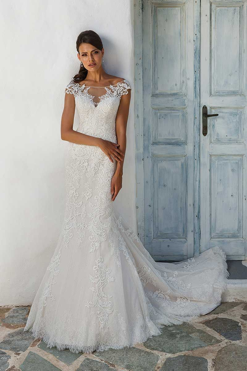 b853abf7060 Justin Alexander 8954 bridal dress. Justin Alexander 8954 Bridal Dress.  Illusion Lace Off the