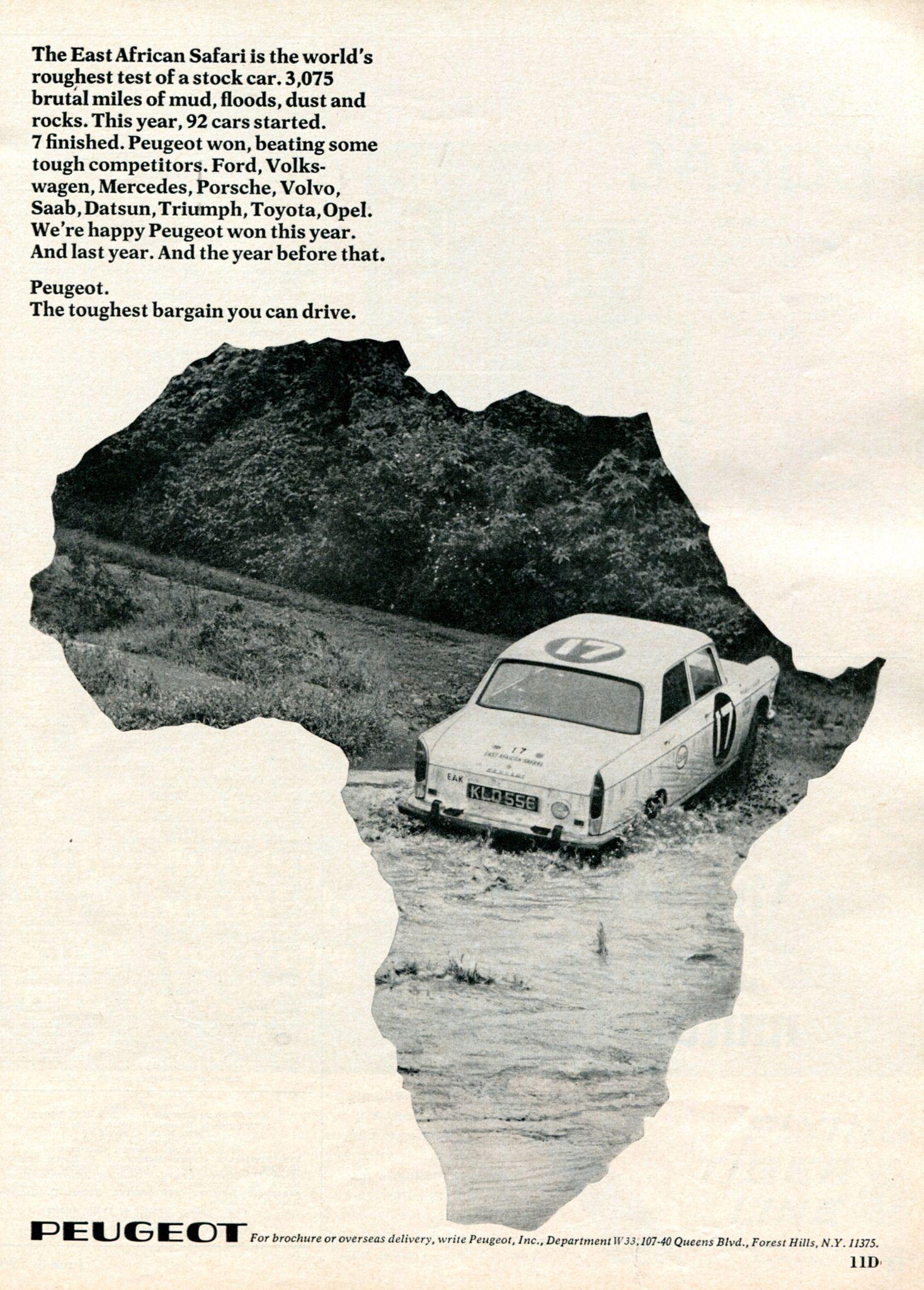 1968 Peugeot Advertisement Newsweek June 3 1968 Peugeot