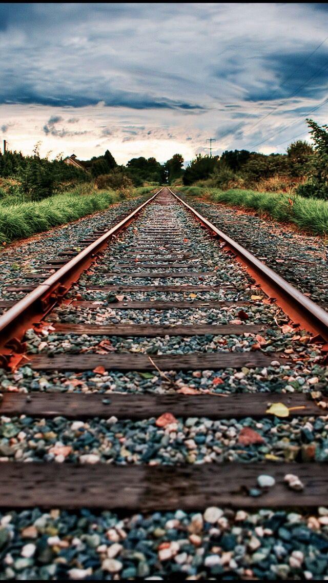 Train Tracks Source Flickr Com Blurred Background Photography Blur Background Photography New Background Images Hd train background for editing