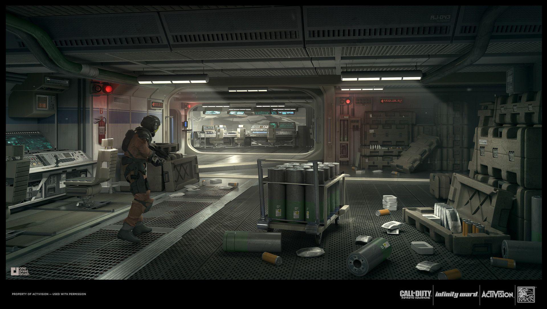 Artstation Call Of Duty Infinite Warfare Abandoned Station 2 Mike Garn Infinite Warfare Call Of Duty Warfare