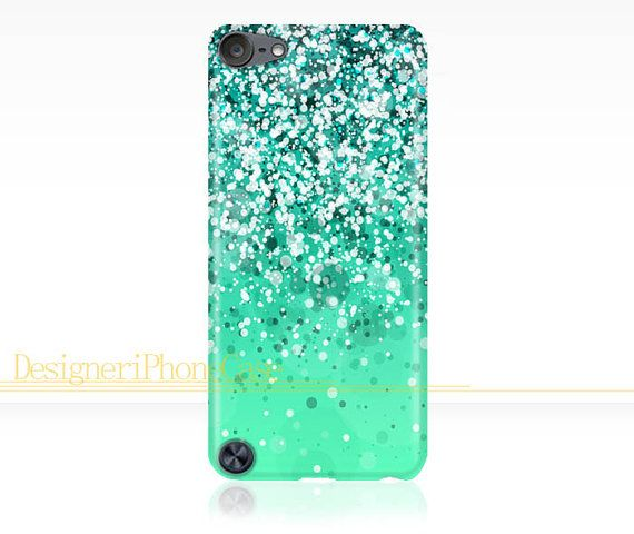 best sneakers a9c61 95ac7 Glitter Sparkle iPod Touch 5 case Glitter by DesigneriPhoneCase ...